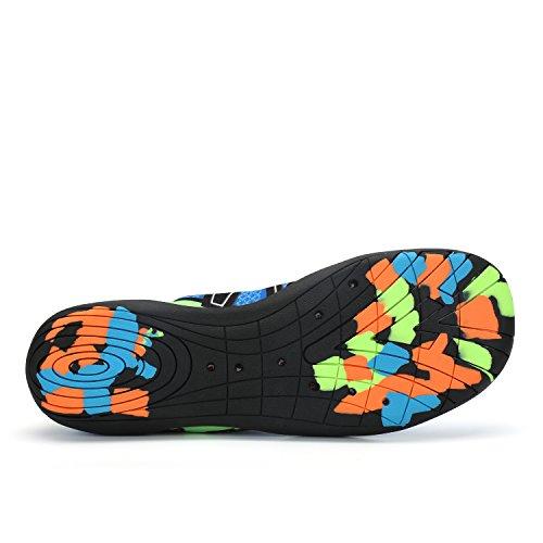 3c94522669c Bueno wreapped DAFENP Mujer Zapatos de Agua Rápido DescalzoDeportivos Para  Buceo Surf natación Yoga