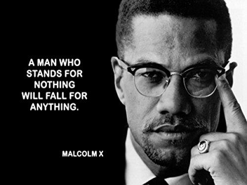 Art Rare Lithograph (Malcolm X 18X24 Poster New! Rare! #BHG521631)