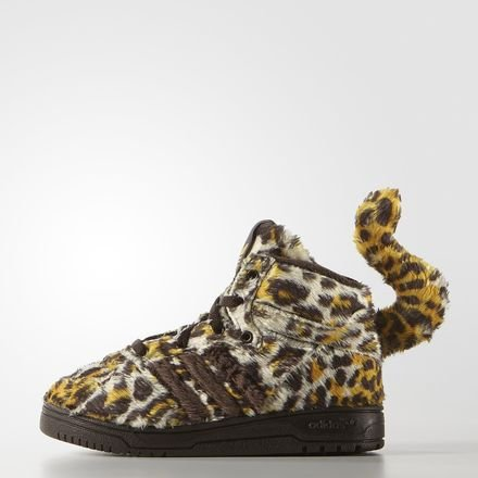 897417bd9f5a adidas Jeremy Scott Leopard 1 Toddlers S77836 Rare Cute Collectible Sneakers  New (UK 5.5)  Amazon.co.uk  Shoes   Bags