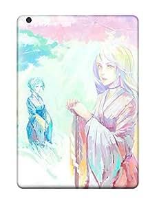 DanRobertse Premium Protective Hard Case For Ipad Air- Nice Design - Yukata Color Japanese by lolosakes