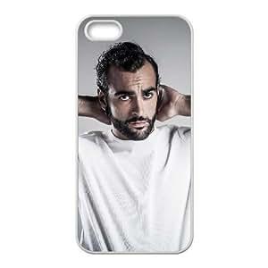 Marco Mengoni U2C27M7LT funda iPhone 4 4s Funda Caso de la cubierta D6MGVU blanco