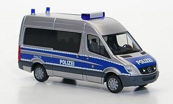 mercedes sprinter 06 bus polizei hessen modellauto fertigmodell herpa 187 - Polizei Hessen Bewerbung