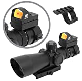 AR15 M4 CX4 SU16 Tactical Combo Set w/ NcStar MKIII 3-9x42 Rifle Scope + NcStar Red Dot Reflex Sight