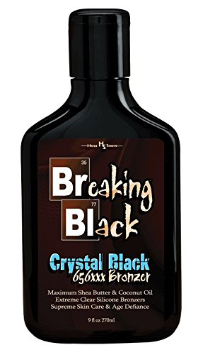 Hoss Sauce Breaking Black CRYSTAL BLACK Tanning Lotion with