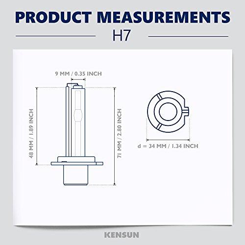 amazon com kensun hid xenon h7 conversion kit all colors rh amazon com  kensun hid kit wiring diagram