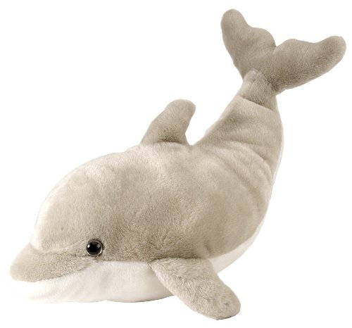 Dolphin Plush - Wild Republic Dolphin Plush, Stuffed Animal, Plush Toy, Gifts for Kids, Cuddlekins 15 Inches