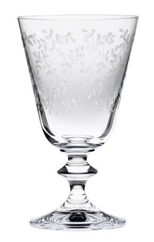 Bohemia Cristal 093 006 044 Weinkelche ca. 230 ml aus Kristallglas 6er Set