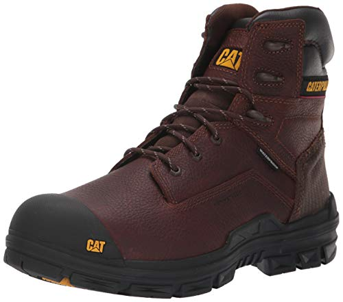 - Caterpillar Men's crossbar Nano Toe Waterproof Construction Boot, Tan, 10.5 M US