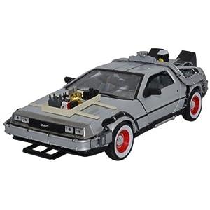 DeLorean Retour vers le futur III échelle 1/24