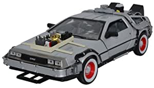 BACK TO THE FUTURE III - 1981 DeLorean LK Coupe 1/24 metal