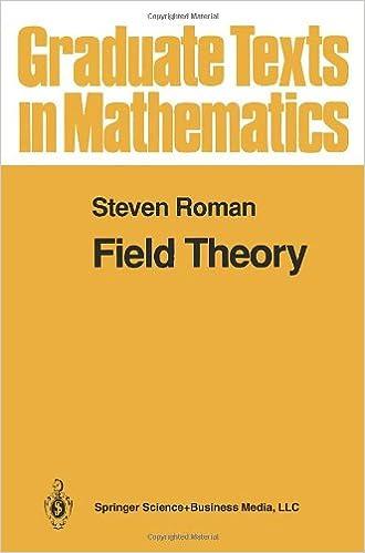 Livres audio gratuits à télécharger sur cd Field Theory 0387944087 PDB