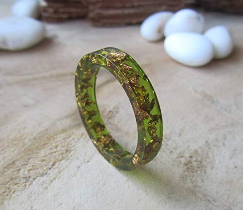 jade ring man, resin ring, jade band, ring man, green man band, for him modern jewelry,thin ring, jade man ring, copper ring, copper jewelry