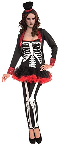 Forum Novelties Women's Ms. Bone Jangles Costume, Multi, One Size]()