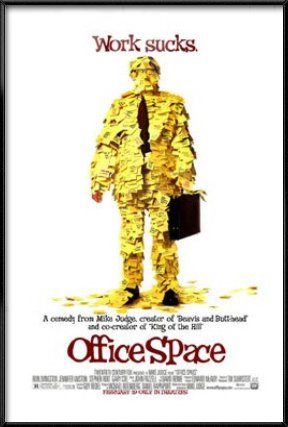 Office Space - Framed Movie Poster / Print