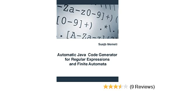 Read e-book Automatic Java Code Generator for Regular