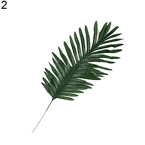 Aland-1Pc Nordic Pine Branch Coconut Palm Leaf Artificial Plant Blogger Photo Prop - 2#
