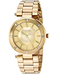 Invicta Womens Angel Quartz and Stainless Steel Casual Watch, Color:Gold-Toned (Model: 23728)
