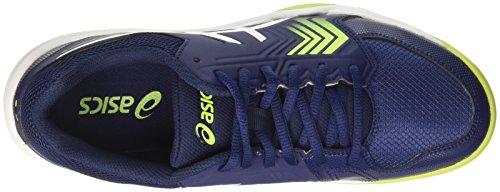 Asics Gel-Dedicate 5, Zapatillas de Tenis para Hombre Multicolor (Indigo Blue/white/safety Yellow)