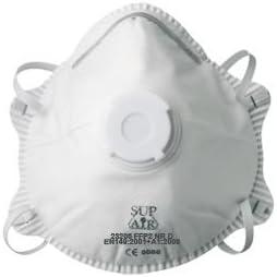 10x Mascarillas de protección SUP AIR FFP2 EPI (23206)