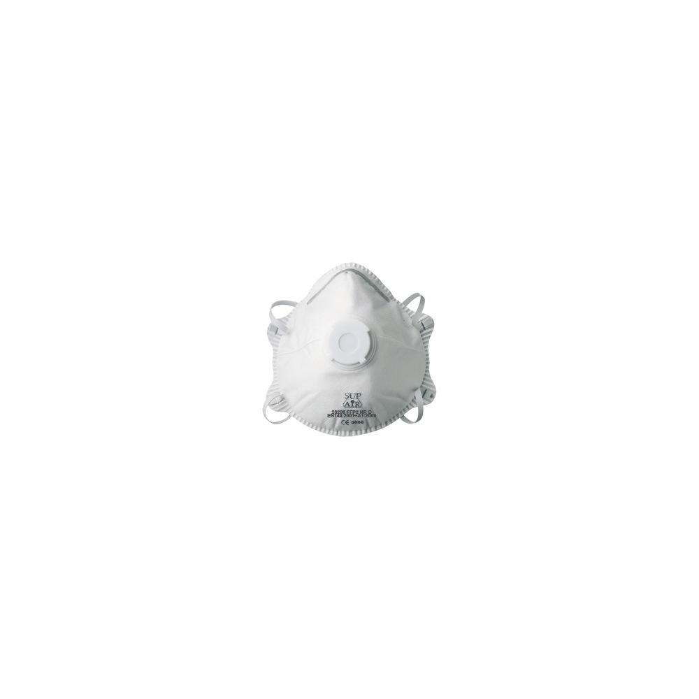 Masque coque avec valve FFP2 SL - Vendu par 10 - MP Hygiene 18471