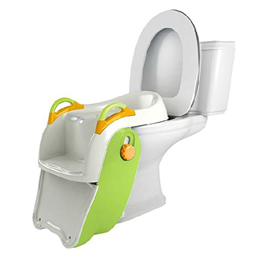 (ZAYJD XRXY Creative Foldable Child Commode Chair/Children Step-Wise Toilet Seat/Practical Simple Bedpan/Baby Convenient Toilets 51 39 25.8 cm)