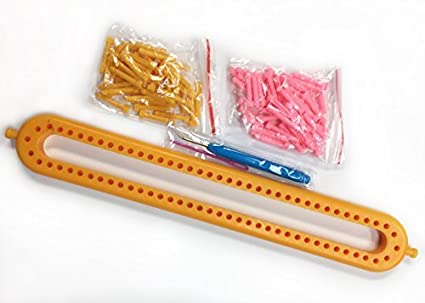 Amazon Long Scarf Knitting Loom With Removable Pegs Knitting