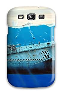 Hot SMhceAk153ZqbQN Case Cover Protector For Galaxy S3- Submarine