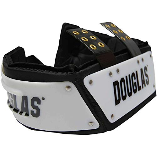 "Douglas 4"" Junior Football Adjustable JP Series Rib/Back Protector Pad Combo"