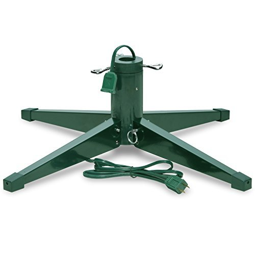Treestand Rotating - Heavy-duty Rotating Revolving Tree Stand, Seasonal Winter Christmas Tree Stands for Artificial Trees, Metal