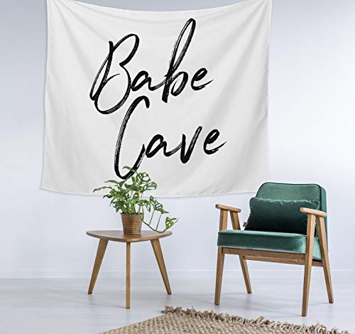 Georgia Barnard Babe Cave Decor Unique Dorm Decor Apartment Decor Trendy Wall Art Printed Wall Hanging Wall Tapestry 40