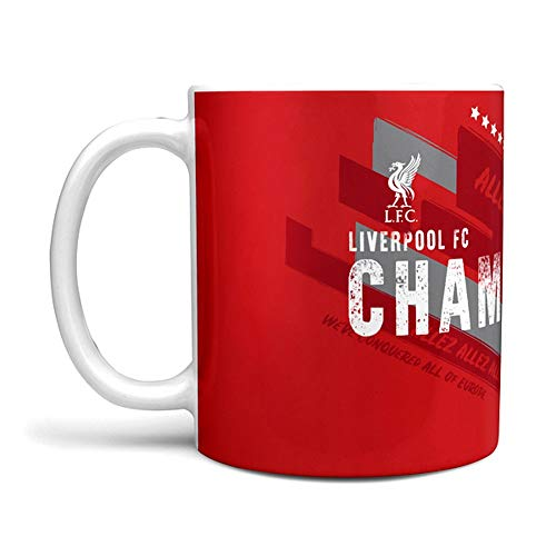 Liverpool FC Champions of Europe 2018/19 Official Winners Mug