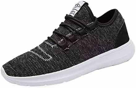 1d38e7b1b Srenket Mens Casual Athletic Sneakers Comfortable Running Shoes Light  Tennis Zapatos Footwear for Men Walking Workout