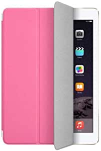 For Apple iPad Air iPad 5 Magnetic Smart Slim Front Back Protection Case Cover Pink
