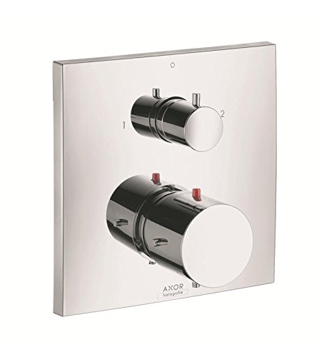 Axor Starck Electronic - AXOR 10726001 Starck X Thermostatic Trim with Volume Control and Diverter, Chrome