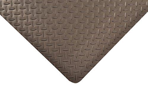 NoTrax Vinyl 479 Cushion Trax Anti-Fatigue Mat, for Heavy-Traffic Dry Areas, 2' Width x 3' Length x 9/16