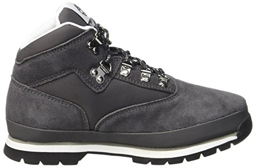 Timberland Kids Euro Hiker Leather and Fabric Chukka Boots, Grau (Forged Iron), 39 EU