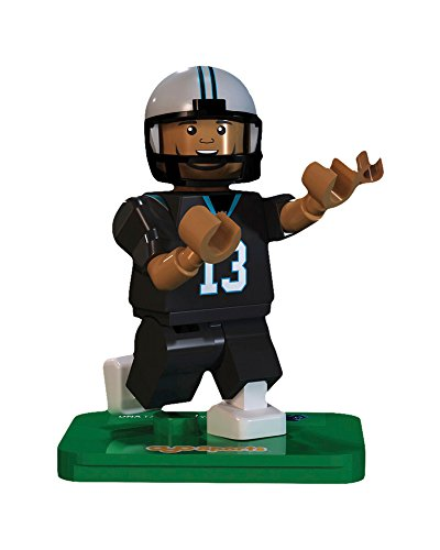 OYO NFL GEN3 Carolina Panthers Kelvin Benjamin Limited Edition Minifigures, Blue, Small