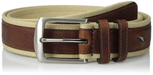 Nautica Men's 1 3/8 Casual Belt,Khaki,40 from Nautica
