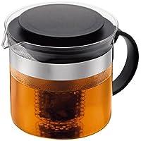 Bodum çay hazırlayıcı Bistronouveau (plastik çay, ısıya dayanıklı cam) Siyah