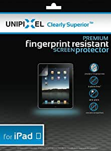Clearly Superior Premium Fingerprint Resistant Screen Protector, 2-pack for iPad
