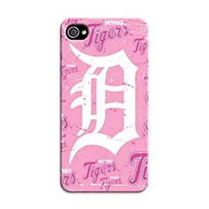 Personalized Monogram Iphone 4/4S Case Iphone 4/4S Tpu Back Cover Detroit Tigers Baseball Mlb