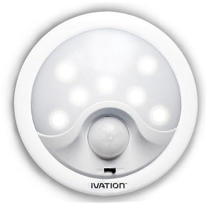 Luz de noche direccional de 8 LED con detección de movimiento automática Hipe - Luz de