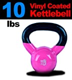 Cheap New MTN 10 lbs (1pc) Vinyl Coated Cast Iron Kettlebell (Kettle Bell) – Lowest Price, Fastest Priority Shipment