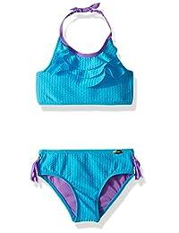 Jessica Simpson Traje de baño Bikini de 2 Piezas para niñas