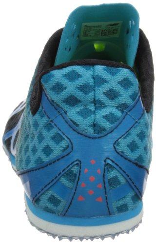 New Balance Hommes Mmd500 Chaussure De Pointe Spike Noir / Bleu