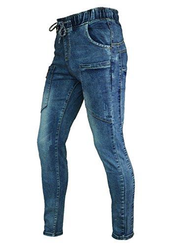 Lunghe Maniche Jeans Light Phoenising Blue Donna Boyfriend EqxtgxW4z