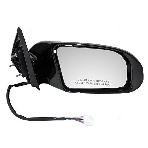(Passengers Power Side View Mirror Heated Signal Smooth Replacement for Nissan 96301-9N83A)