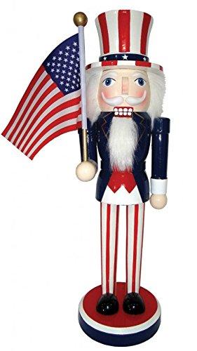 (Santas Workshop 70772 14 in. Uncle Sam Nutcracker)