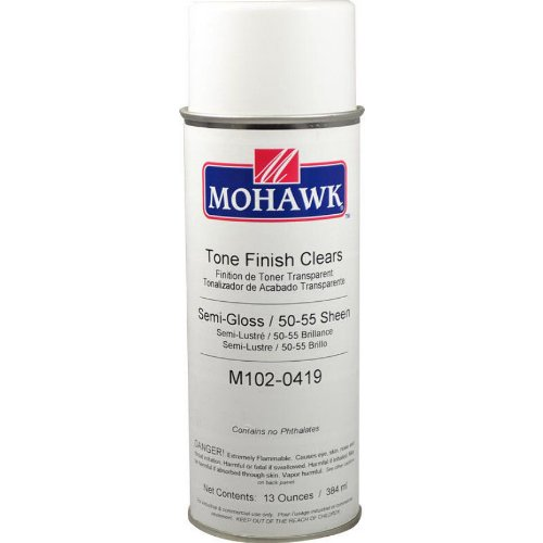 (Mohawk Tone Finish Clear Lacquer - Semi Gloss)