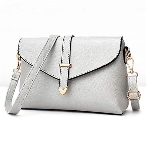para Pink Flap Crossbody Hand 26cmx7cmx17cm Bolsos Mujeres de Blue Lines Hombro Light Bag Light wEIUav